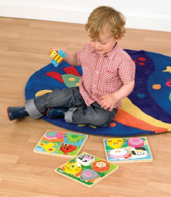 T-0024 Tidlo Touch and Feel Bugs Puzzle 002
