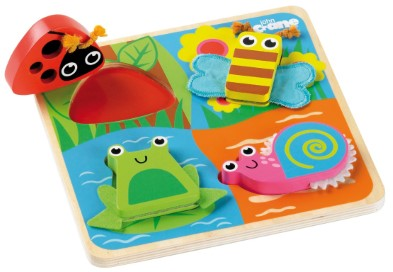 T-0024 Tidlo Touch and Feel Bugs Puzzle 001