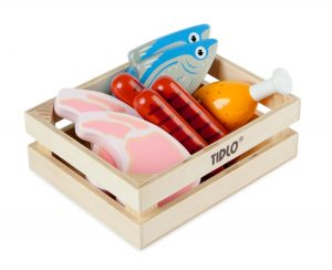 Tidlo Wooden Meat and Fish