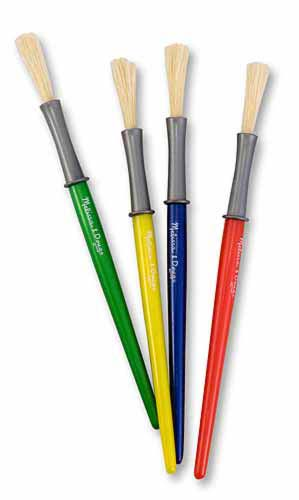 MD14116 Medium Paint Brushes by Melissa and Doug 001