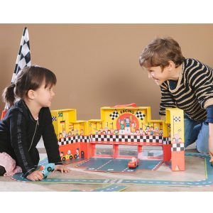 Janod Grand Prix Play Set in a Suitcase