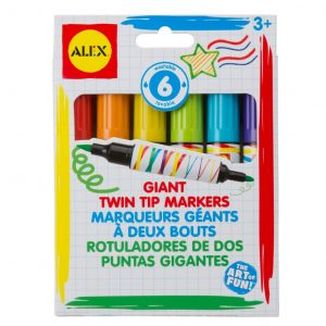 Giant Twin Tip Markers by Alex