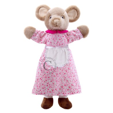 9905 Dressed Mouse Hand Puppet 001
