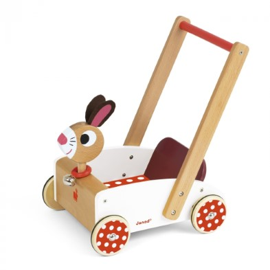 Crazy Rabbit Cart from Janod
