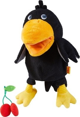 Haba Theo the Raven puppet