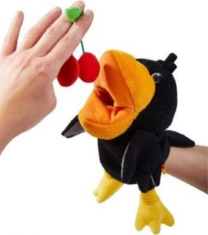 Haba Glove Puppet Theo the Raven