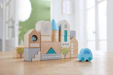 Haba Toy Building and Car