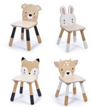 Tender Leaf Forest Animal Chairs