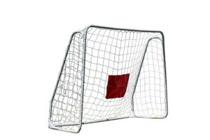 foldable football goal by traditional garden games