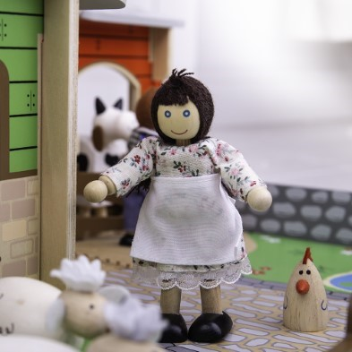 Wooden Toy Sheep