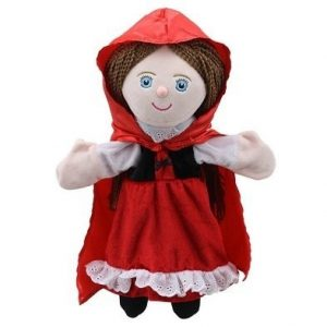 little red riding hood storytelling puppet