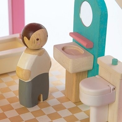 Tender leaf toy bathroom set with character