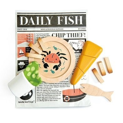 Fish and chips playset