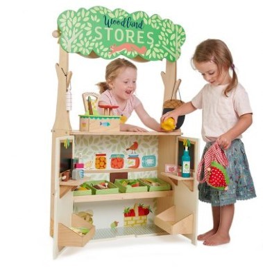 woodland stores and theatre by tender leaf toys open shop 2