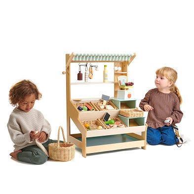 kids with general stores wooden toy