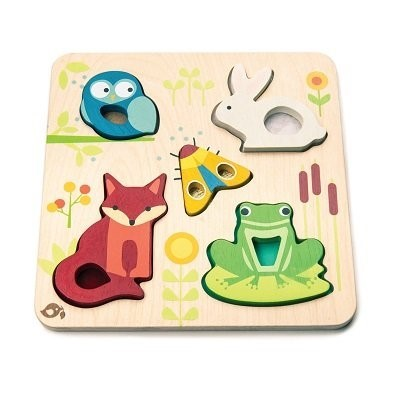 tender leaf toys touch and feel puzzle touchy feely animals