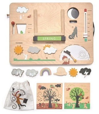 tender leaf toys weather watch wooden toy