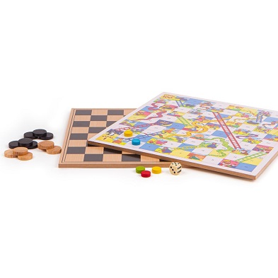 bigjigs family wooden board games in compendium