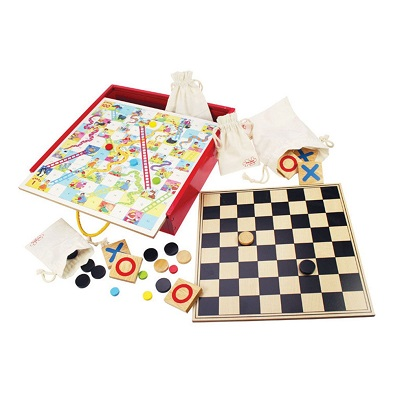 bigjigs games compendium family board games collection