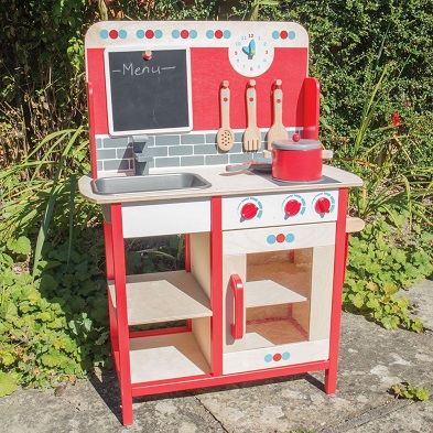 lifestyle bigjigs wooden role play kitchen