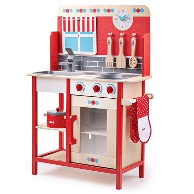 bigjigs wooden role play kitchen