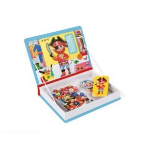 janod boys magnetic costume book