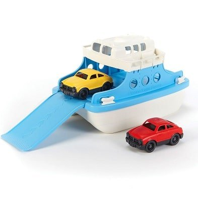 ferry boat water toy by green toys