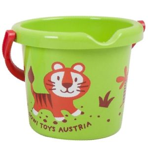 wild animal bucket tiger by gowi toys
