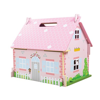 front view blossom cottage dolls house