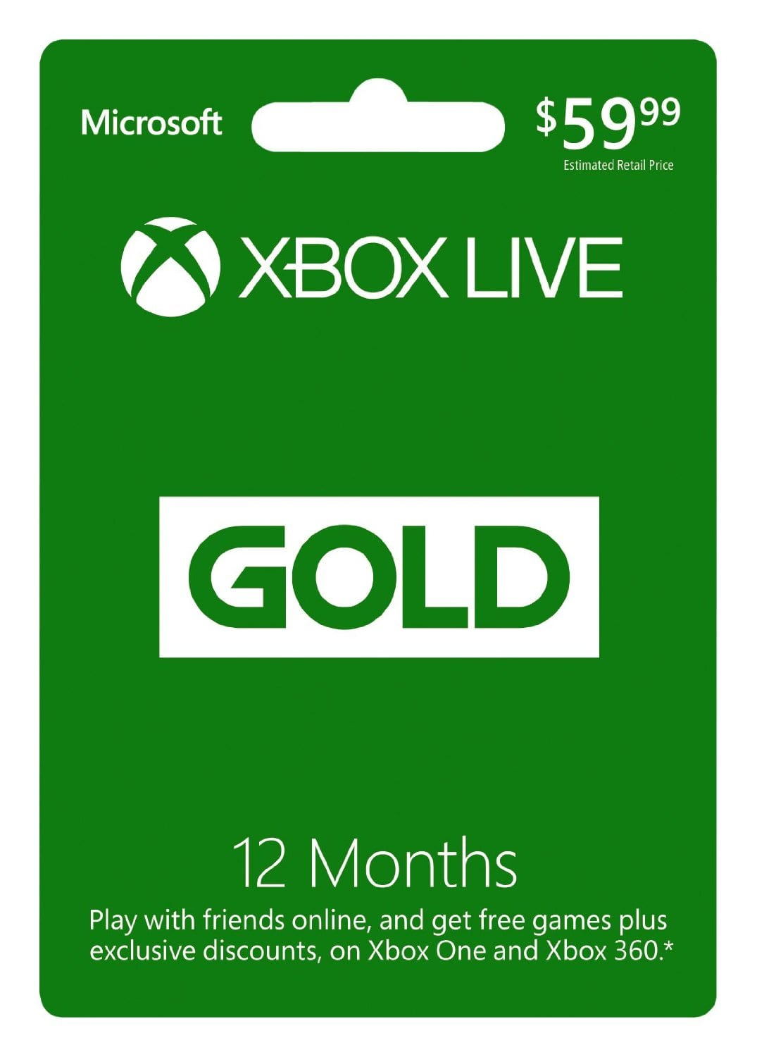 Xbox Live Gold Membership Sale On 12 Month Card Thrifty Nw Mom