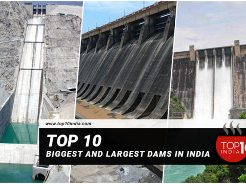 Top 10 Biggest and Largest Dams in India