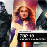 Top 10 Marvel's Characters