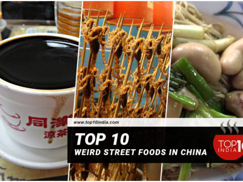 Top 10 Weird Street Food in China