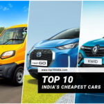 Top 10 India's Cheapest Cars