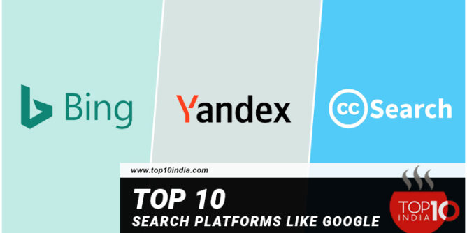 Top 10 Search Platforms Like Google or Which Provide Data Like Google