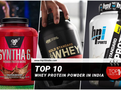 Top 10 Whey Protein Powder in India