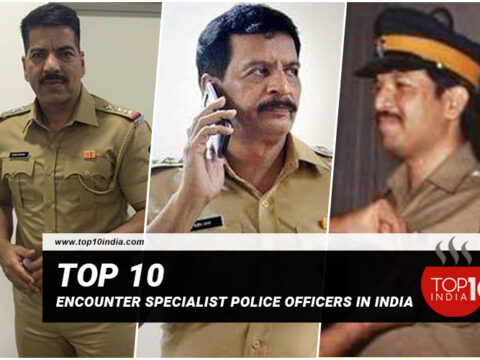 Top 10 Encounter Specialist Police Officers In India