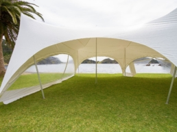 Marquee Sides for Wind Protection