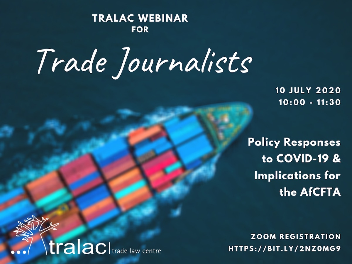 tralac Journalist training flyer