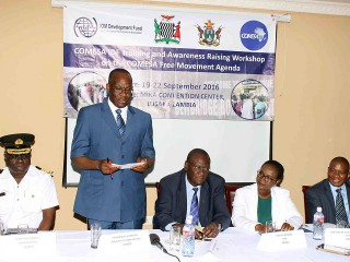IOM-COMESA launches flagship training programme on Free Movement