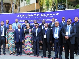 38th SADC Summit: Promoting infrastructure development and youth empowerment for sustainable development