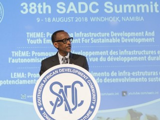 President Kagame attends 38th SADC Summit
