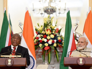 India-South Africa Joint Statement/Joint Communiqué