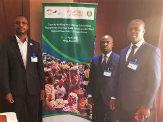 Capacity Building Workshop on Stakeholder Engagement on African Trade Policies and ECOWAS Regional Trade Policy Dialogue Forum