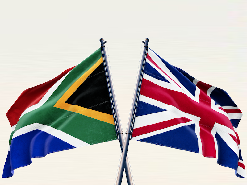South Africa-UK trade: comparing January-October 2019 and 2020
