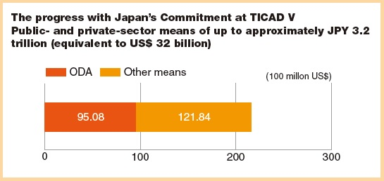 Japan TICAD V progress