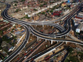 How can transport infrastructure promote trade and sustainable development on the African continent?