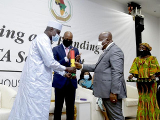 Official Commissioning and Handing Over of the AfCFTA Secretariat
