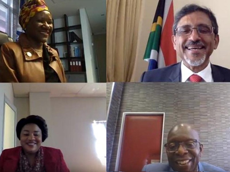 SACU Ministers of Trade and Industry hold virtual meeting on the AfCFTA