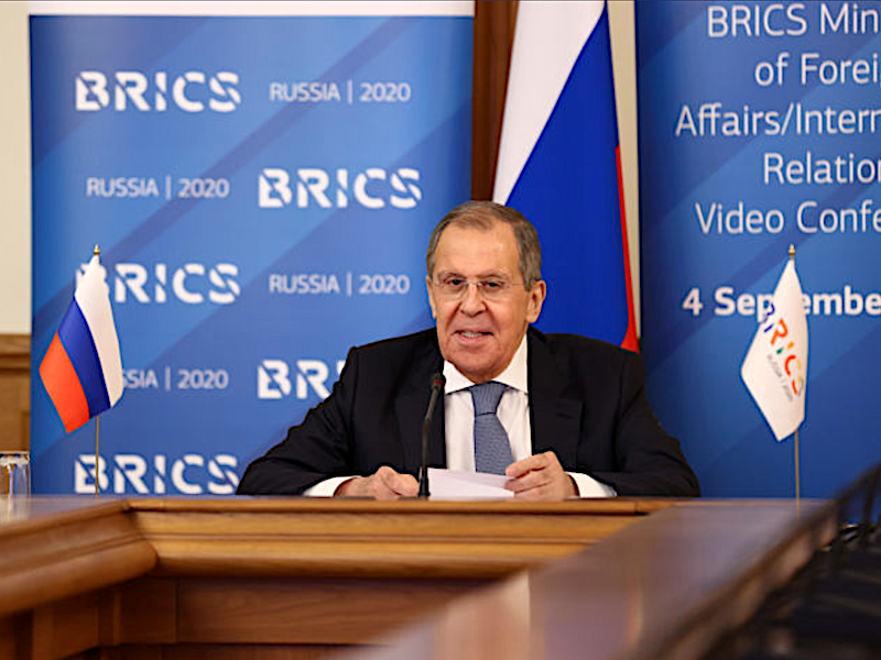 BRICS Foreign Ministers discuss topical international issues